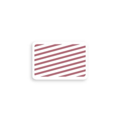 """2 X 3"""" Adhesive - Half Day/One-Day - Red 100 (Expired) (1000/Pkg)"""