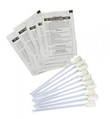 Zebra Cleaning Kit for P100i - 4 Engine Cleaning Card, 12 Swabs
