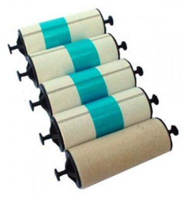 Zebra 105912-003 Adhesive Cleaning Roller-Set Of 5