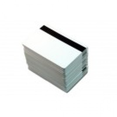 "Low Coercivity Magnetic PVC Cards with 5/16"" LOCO Magnetic Stripe (500/Box)"