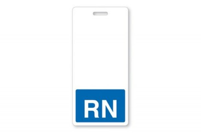 Blue RN Vertical Badge Buddies (25/Box)