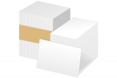 30 Ml Adhesive PVC Cards with Paper Back (500/Box)