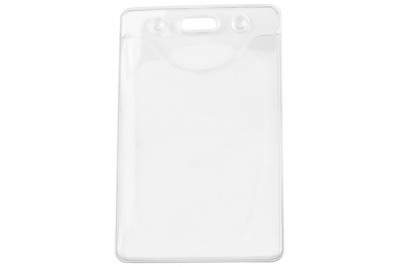 Clear Vinyl Vertical Phthalates-free Badge Holder (100/Box)