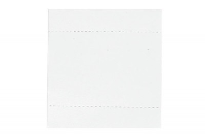 "Pre-Scored White Insert Cards - 3"" X 4"" (100/Box)"