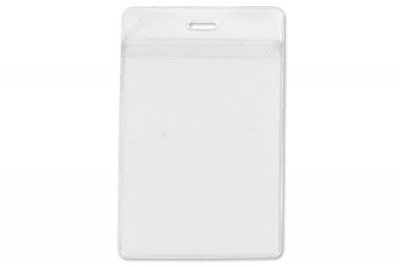 Vertical Event Size Holder w/ Front And Back Pockets (100/Box)