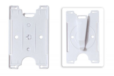 White Colored Convertible Card Holder (50/Box)