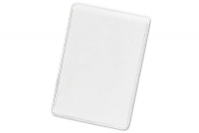Clear Vinyl Business Card Holder (100/Box)