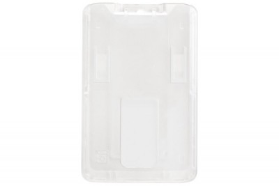 B-Holder Clear Rigid Vertical Holder (50/Box)