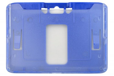 B-Holder Metallic Blue Rigid Horizontal Holder