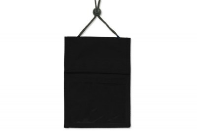 Black 3-Pocket Wallet w/ Pen Compartment (100/Box)