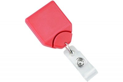 Watermelon B-REEL Badge Reel w/ Swivel Belt Clip (25/Pkg)
