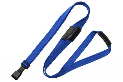 Royal Blue 3-Breakaway Lanyard (100/Pkg)
