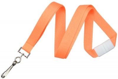 Neon Orange Breakaway Lanyard (100/Pkg)