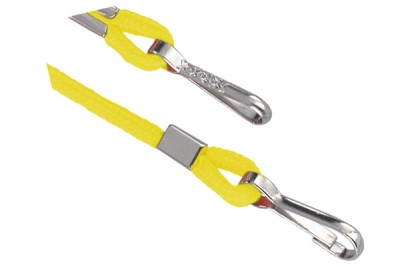 Yellow Open Ended Lanyard w/ Two Swivel Hooks (1000/Pkg)