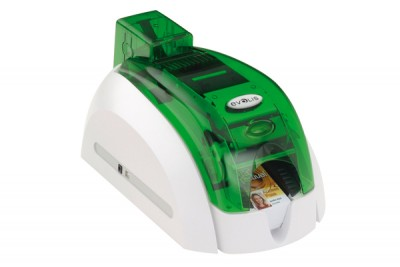 Evolis Pebble4 Basic Single-side USB Jungle-Green Card Printer