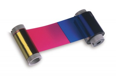 Fargo 86200 YMCKO Color Ribbon - 500 Prints