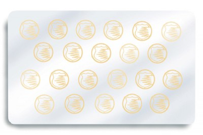 Zebra 800015-035 Hand Applied Peel-n-Stick Genuine Secure Hologram Laminate - 500 patches
