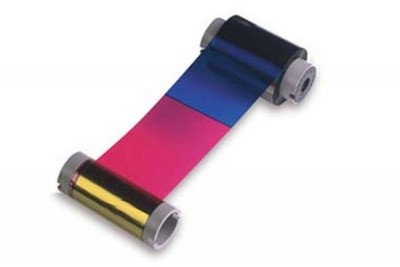 Datacard 806124-102 YMCK Color Printer Ribbon for non-SP Series - 165 prints/roll