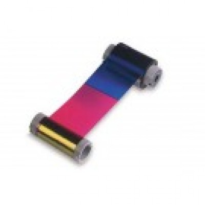 Datacard 806124-106 YMCKT-KT Color Printer Ribbon for Ultima ICIV - 95 prints/roll