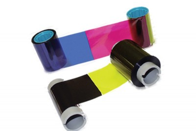 Datacard 549081-202 YMCK Color Printer Ribbon for Select/Magna - 165 prints/roll