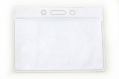 White Data/Credit Card Size Holder (100/Box)