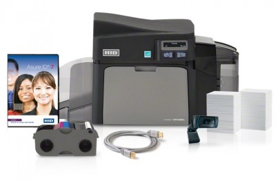 Fargo DTC4250e Card Printer-Encoder (Single Side Printer Bundle)
