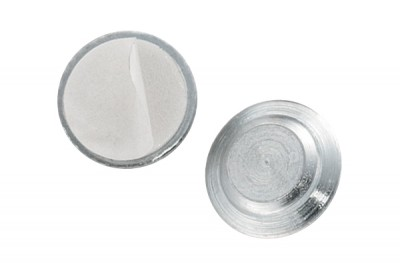 Magnetic Badge Finding, 1 Zinc-Plated Steel Encased Disc (50/Pkg)
