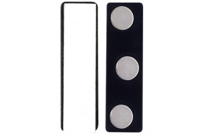 Magnetic Badge Finding, 3 Round Magnets (50/Pkg)