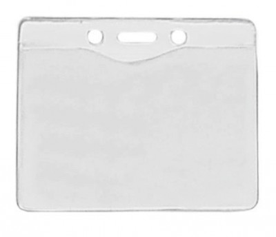 Horizontal Badge Holder Data/Credit Card Size (100/Box)