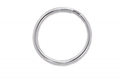 Nickel Plated Split Ring (1000/Pkg)