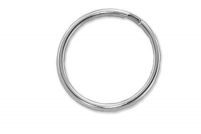"1"" Round Edge Split Ring (1000/Pkg)"