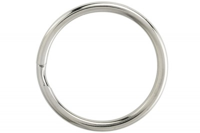 "1 1/16"" Round Edge Split Ring (1000/Pkg)"