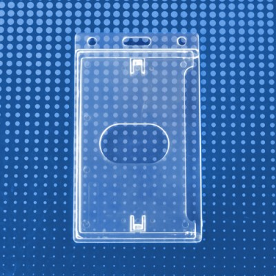Vertical Economy Crystal Clear Card Dispenser (50/Box)