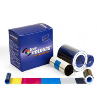 Zebra 800014-941 YMCUvK Color Ribbon for P630i and P640i - 500 Prints