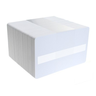 Zebra 104523-118 Premium PVC Card with Signature Strip - 500 Cards