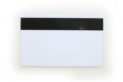 All PVC Construction Card (030 mil) With magnetic stripe (500/Box)