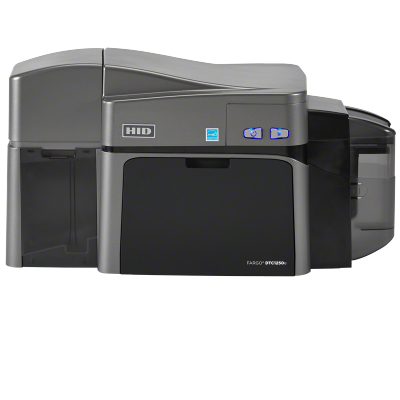 DTC1250e Dual Sided Base Printer with USB