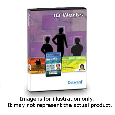 Datacard 571897-004 ID Works Standard Production Software