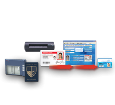 Datacard 572178-004 ID Works Visitor Manager Software (with 800R Scanner)