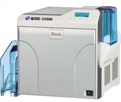 WISE CXD 80S Card Printer (Dual-Sided, Base Model)