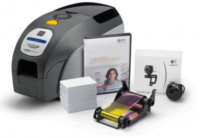 ZXP Series 3 Card Printer (Single-Sided, MagStripe Encoder Printer Bundle)