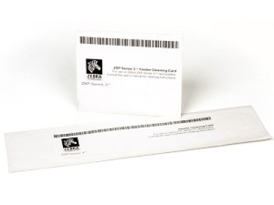Zebra Cleaning Kit ZXP Series 3 - 4 Cleaning Cards, 4 Engine Cards
