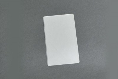 Kleer-Lam Laminates, Luggage Tag Size, Clear 2 Part Without Slot, 5 Ml (500/Pkg)