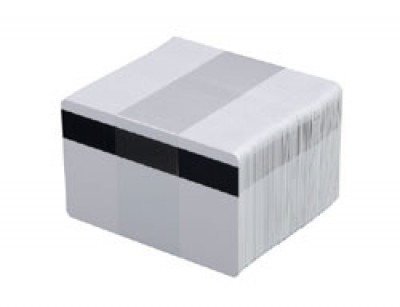 Zebra 104524-107 PVC/POLY Composite Cards with Magnetic Stripe - 500 Cards
