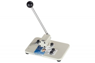 Medium Manual Table Top Slot Punch with Adjustable Guides