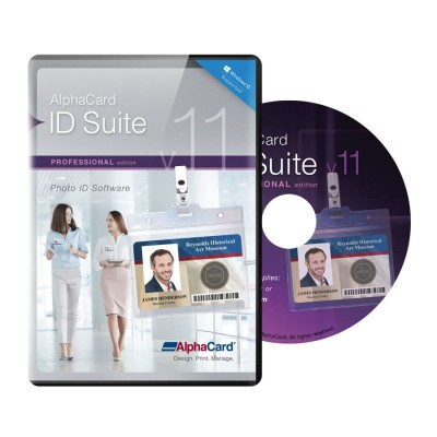 AlphaCard ID Suite Professional v11
