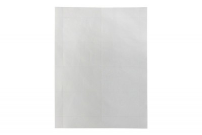 Laser Printer Paper Name Tag Inserts- Convention Size (6 Inserts Per Sheet, 60 Sheets Per Pack)