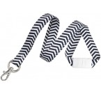 ZigZag Pattern Fashion Break-Away Lanyard (10/Pkg)