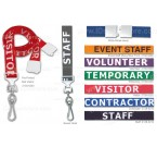 Ultraweave Standard Pre-Printed Break-Away Lanyard  (100/Pkg)