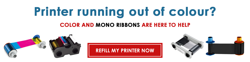 Refill your printer with ribbons